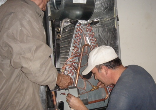 Installation of new air conditioner.jpg