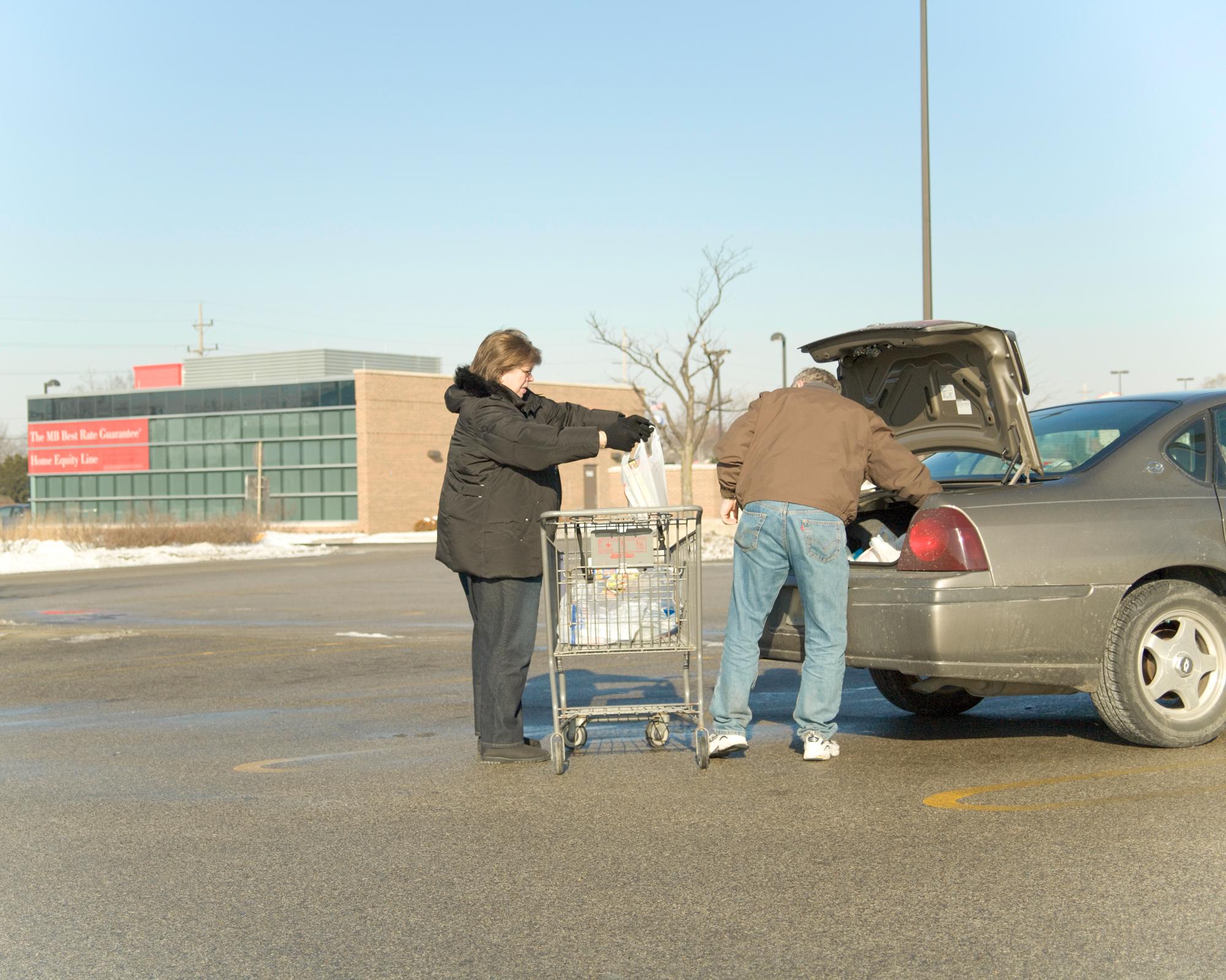 Neil & Judy. Groceries.