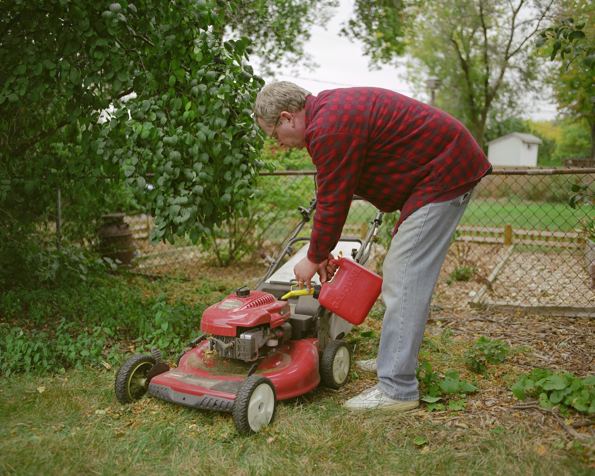 Neil. Lawn Mower.