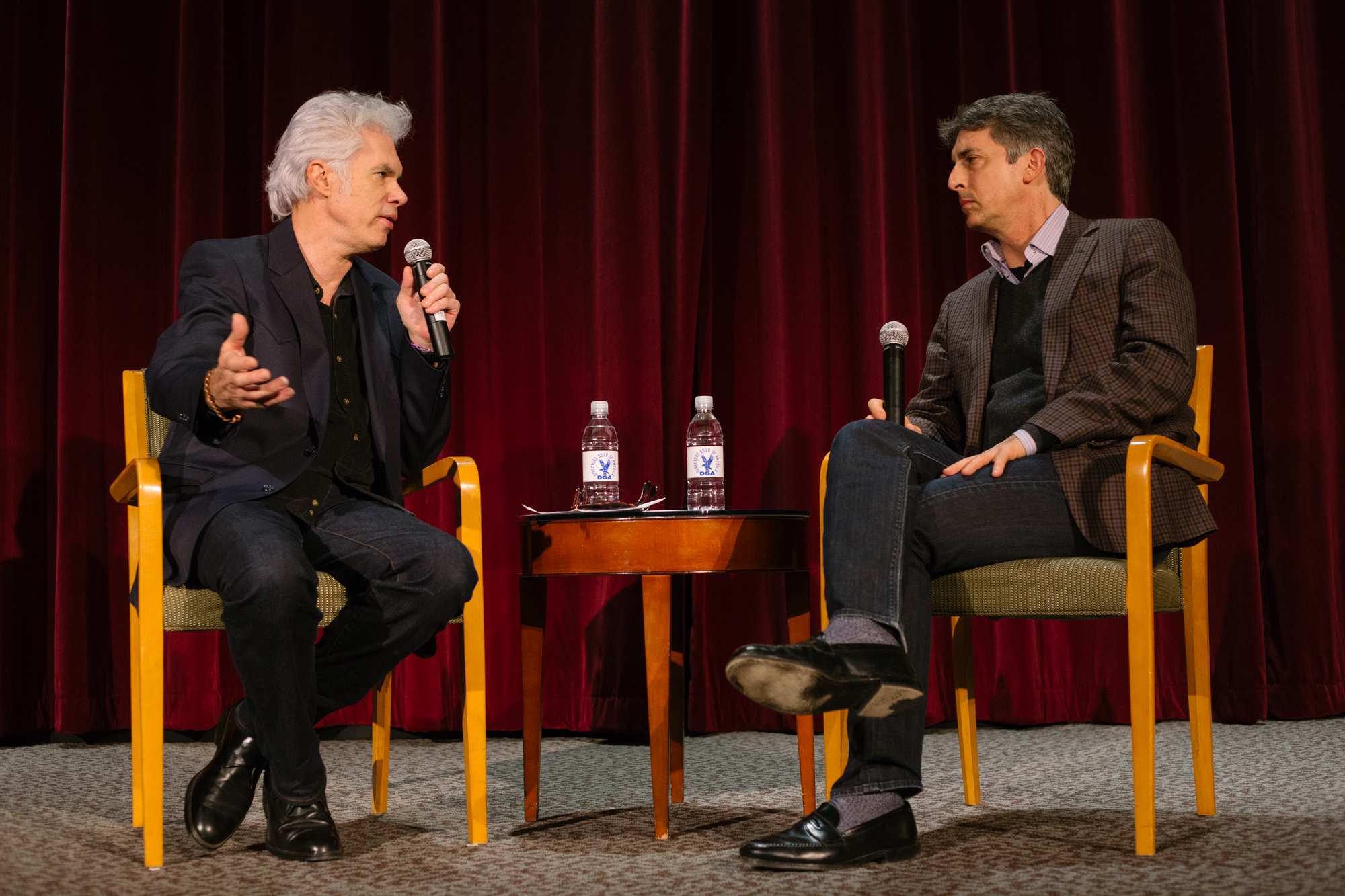 Jim Jarmusch and Alexander Payne.