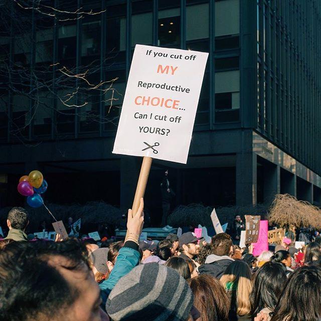 Fight Back. Women's March. #womensmarch