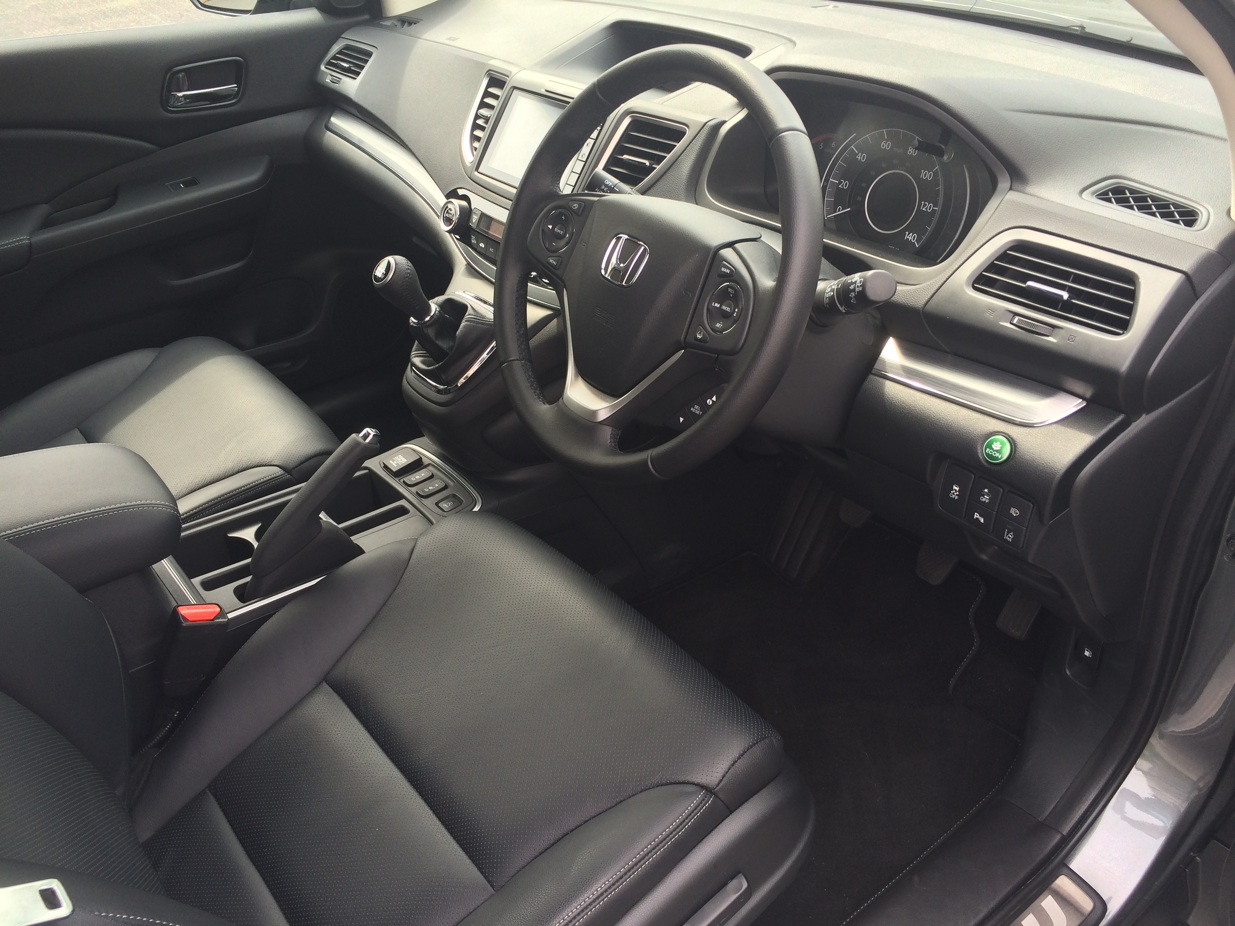 Spacious, comfortable and easy to use interior and controls