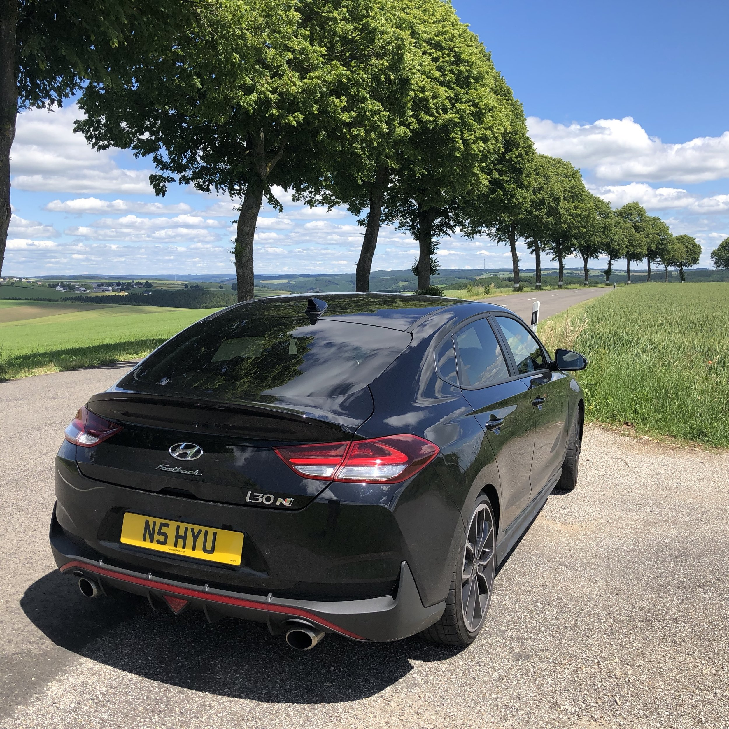 i30 Fastback N in deepest Luxembourg