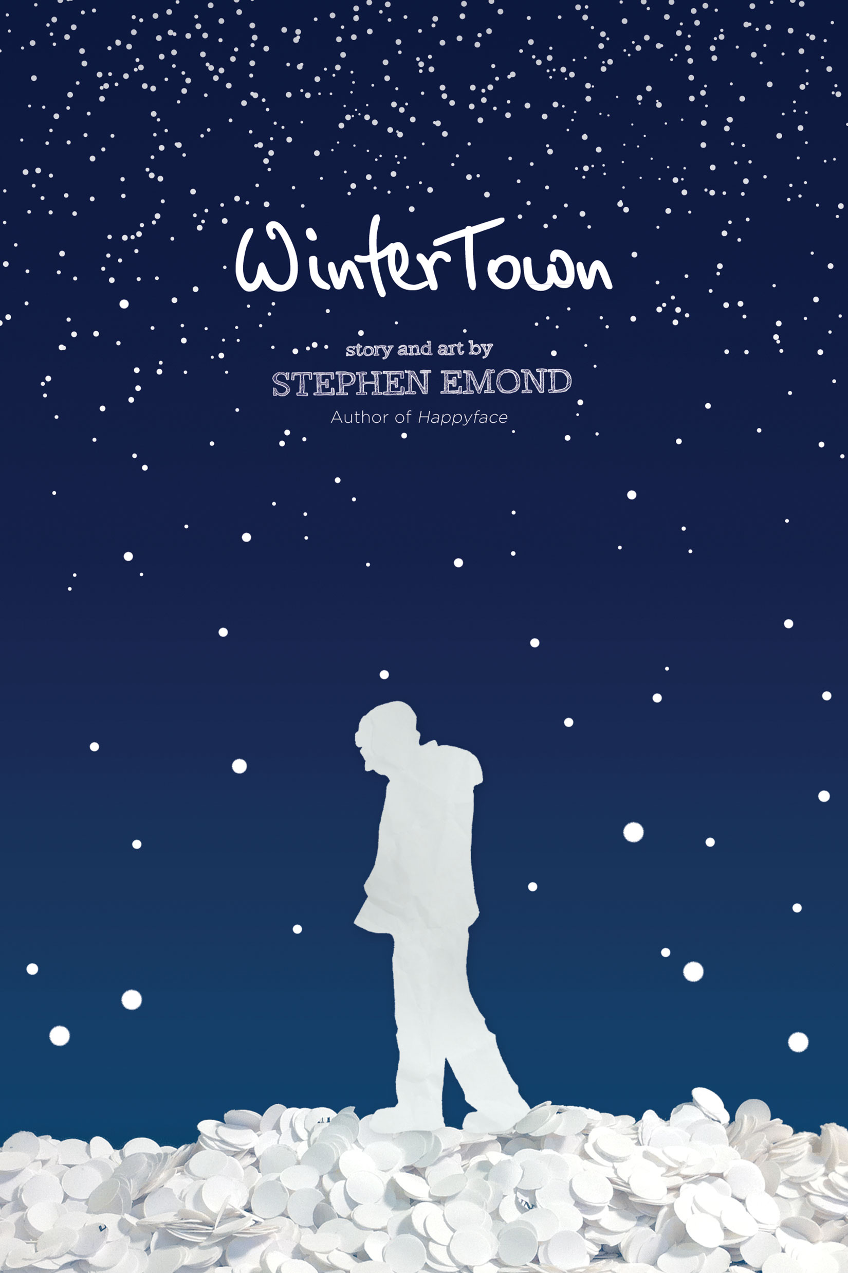 WinterTown by Stephen Emond Designed by Ben Mautner for Little, Brown Illustrated by Stephen Emond and Ben Mautner