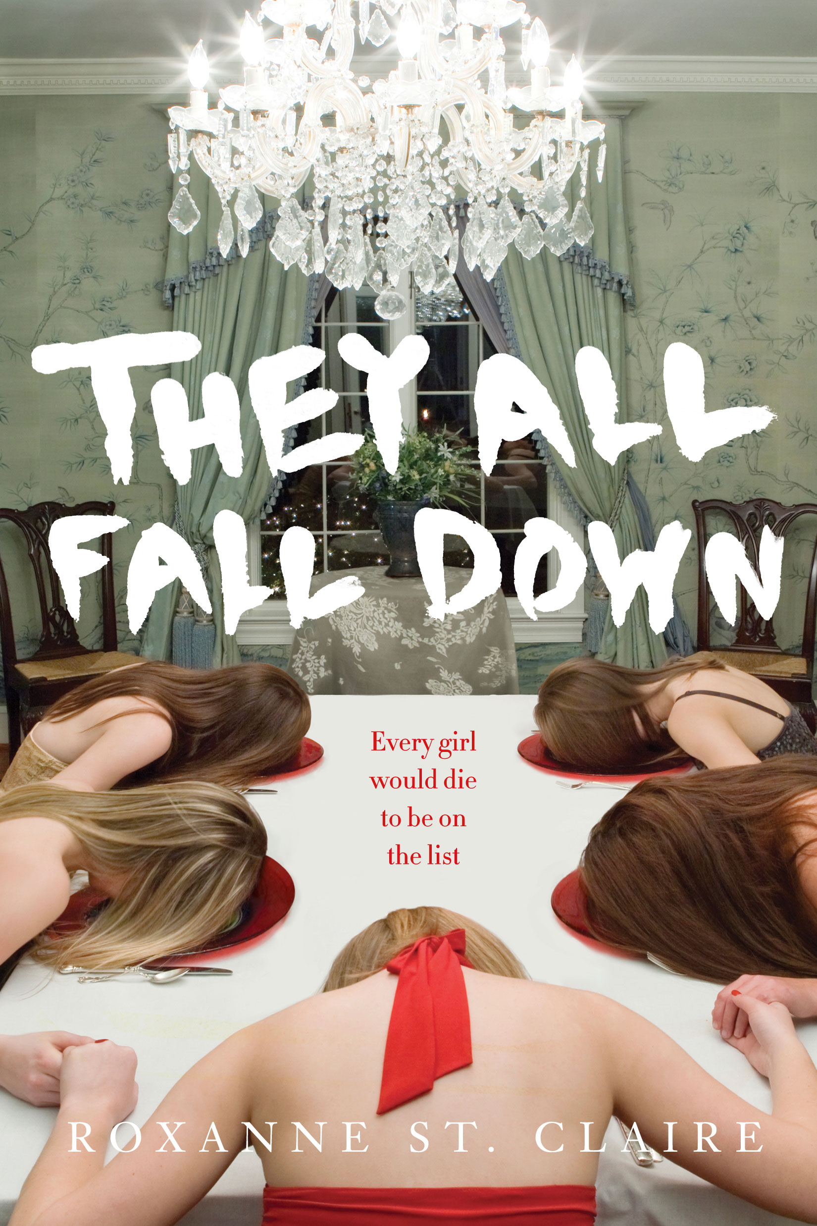 They All Fall Down by Roxanne St. Claire Designed by Ben Mautner for Knopf Art Directed by Alison Impey