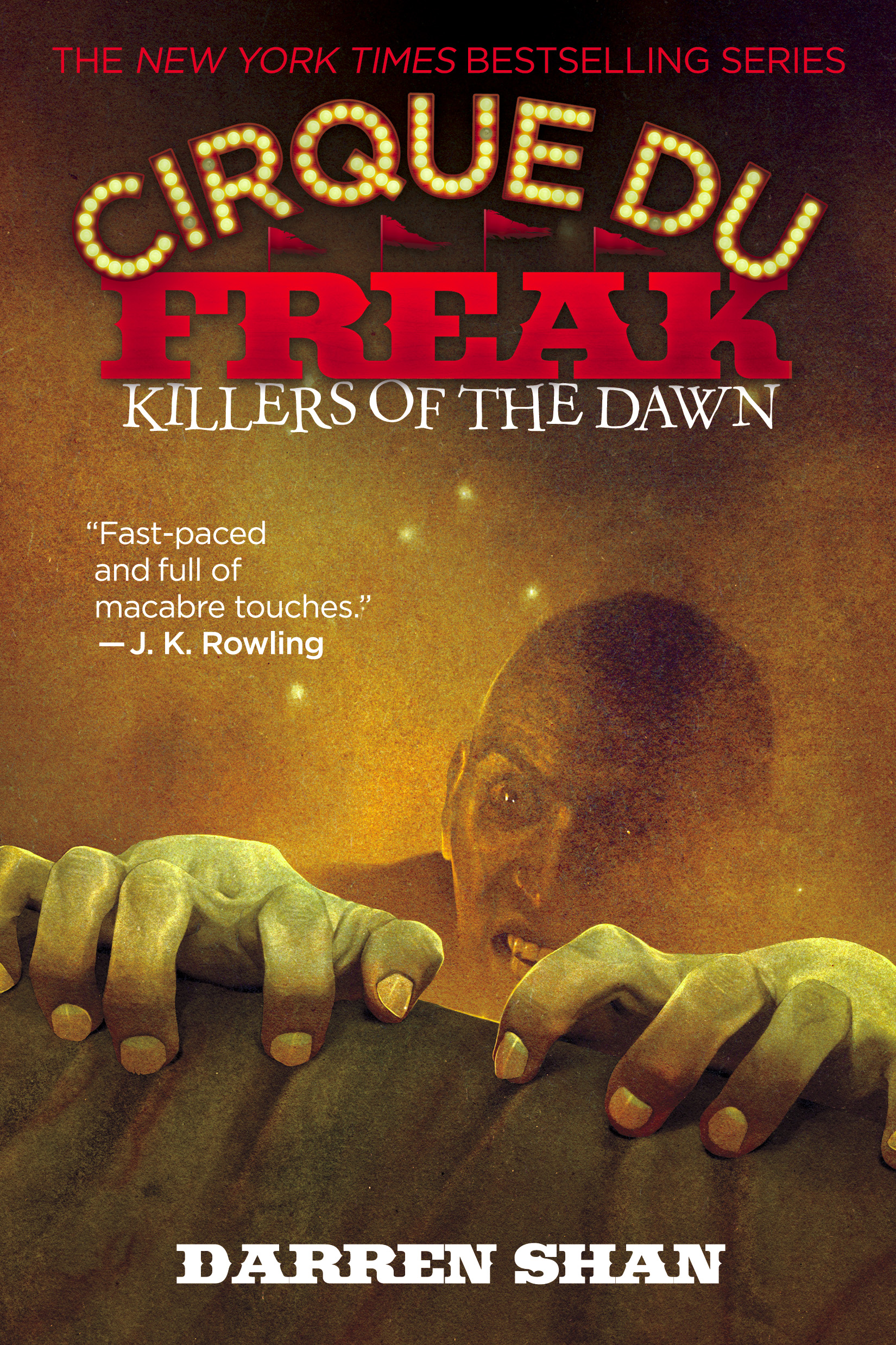 Cirque Du Freak: Killers of the Dawn by Darren Shan Designed by Ben Mautner for Little, Brown Logo & Identity by Ben Mautner. Illustrated by Sam Weber.