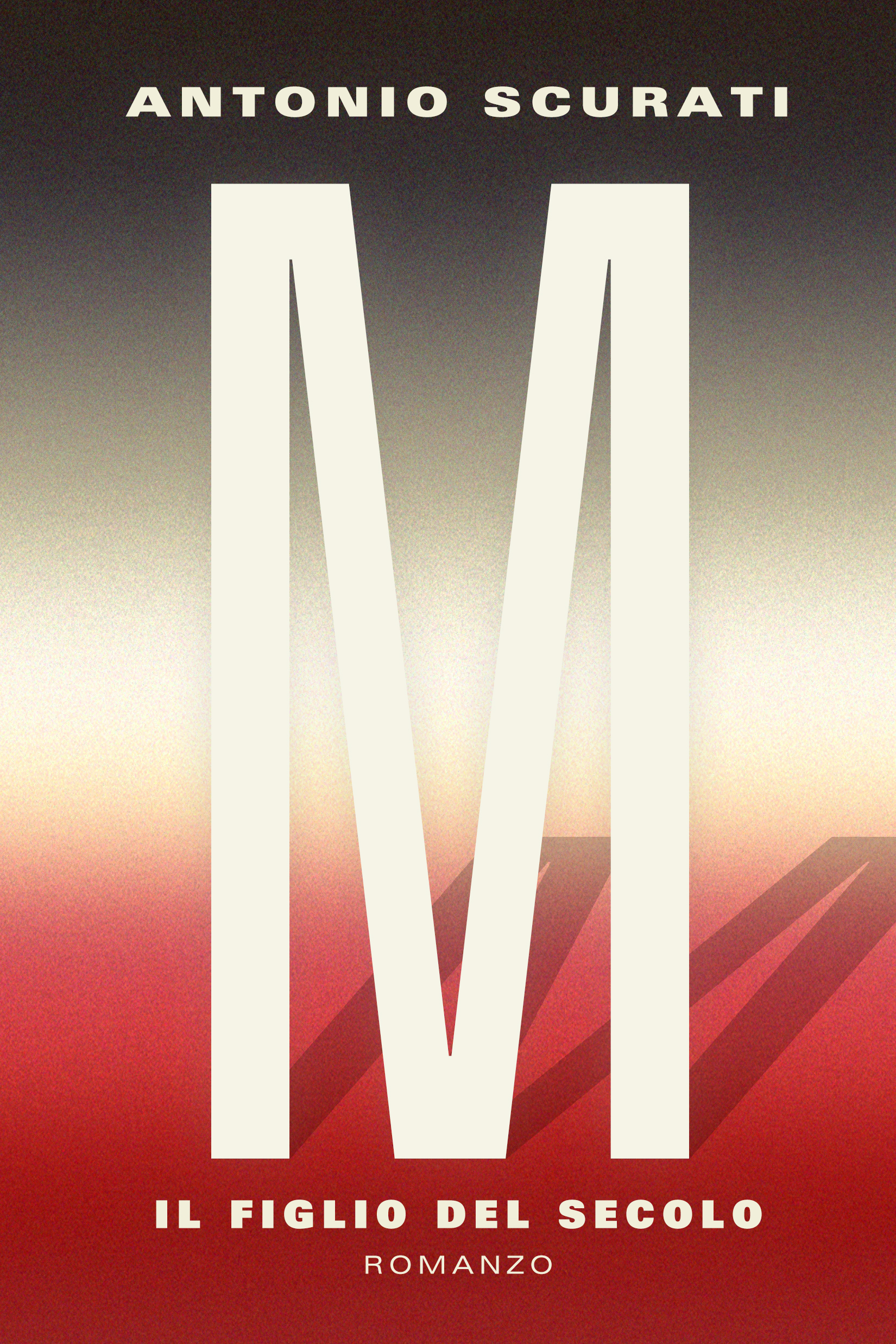 M by Antonio Scurati Designed by Ben Mautner for One Hour Covers