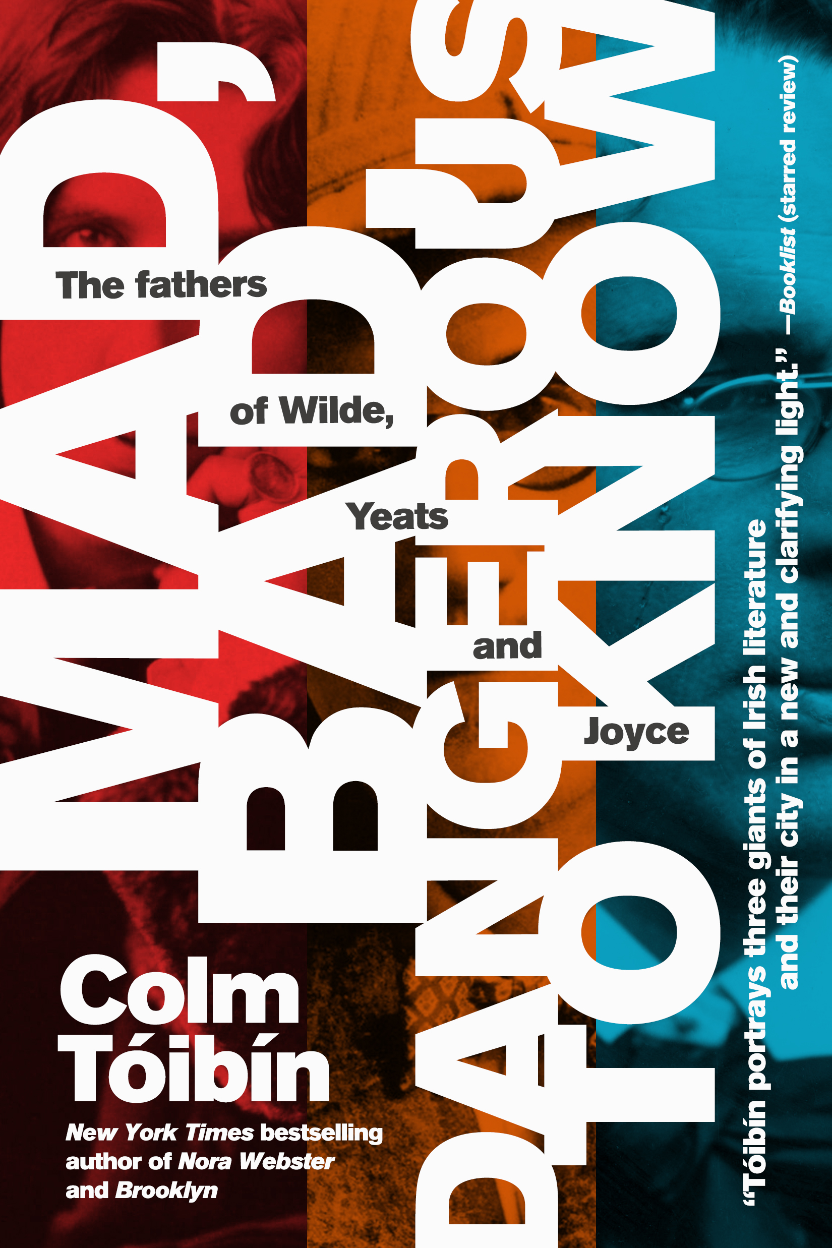 Mad, Bad, Dangerous to Know by Colm Toibin Designed by Ben Mautner for One Hour Covers