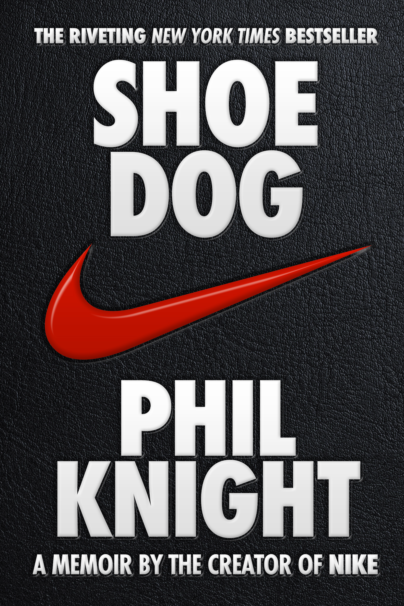 Shoe Dog by Phil Knight Designed by Ben Mautner for One Hour Covers
