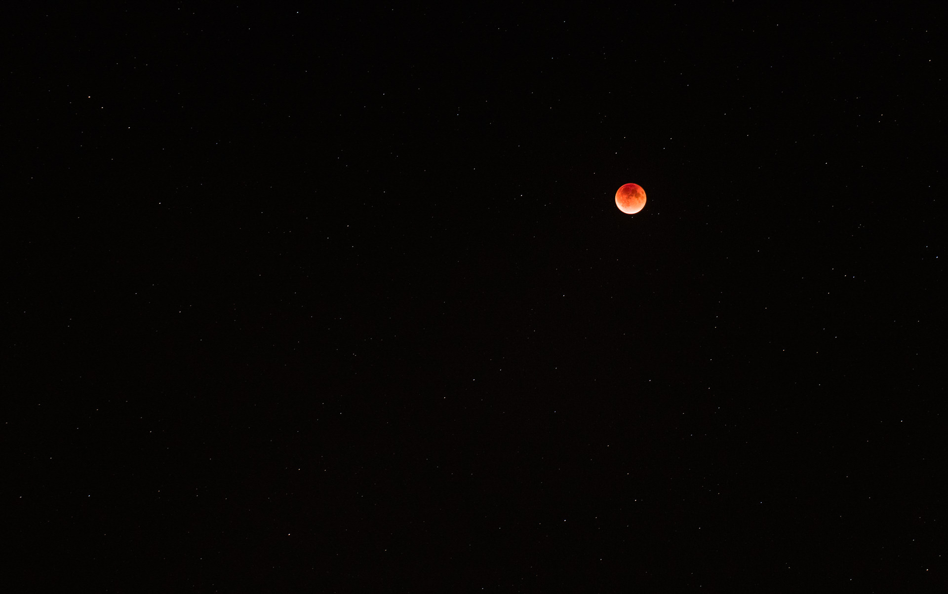 The Blood Moon - Leica SL Lens @ 90mm  f/4  ISO800  3sec