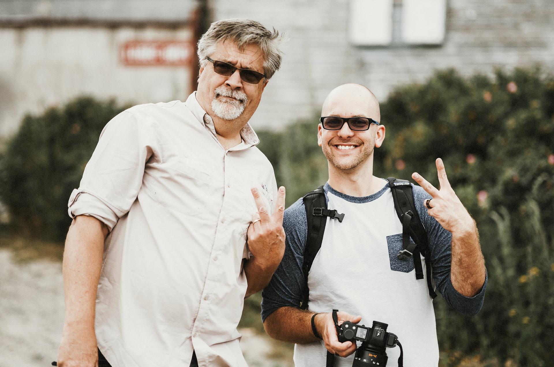 John Kreidler (Leica) and Tim Hussey (Pixifi)