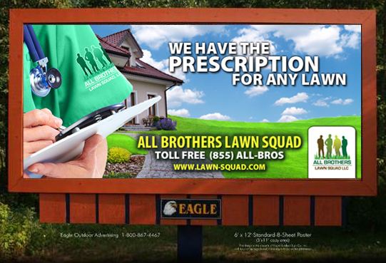 Billboard | All Brothers Lawn Squad | Union City, IN