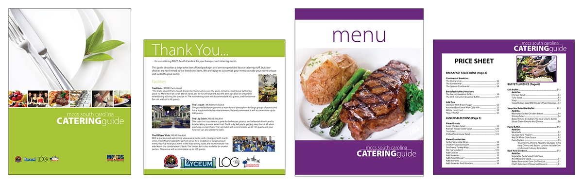 Catering Guide | Marine Corps Community Services | Beaufort, SC