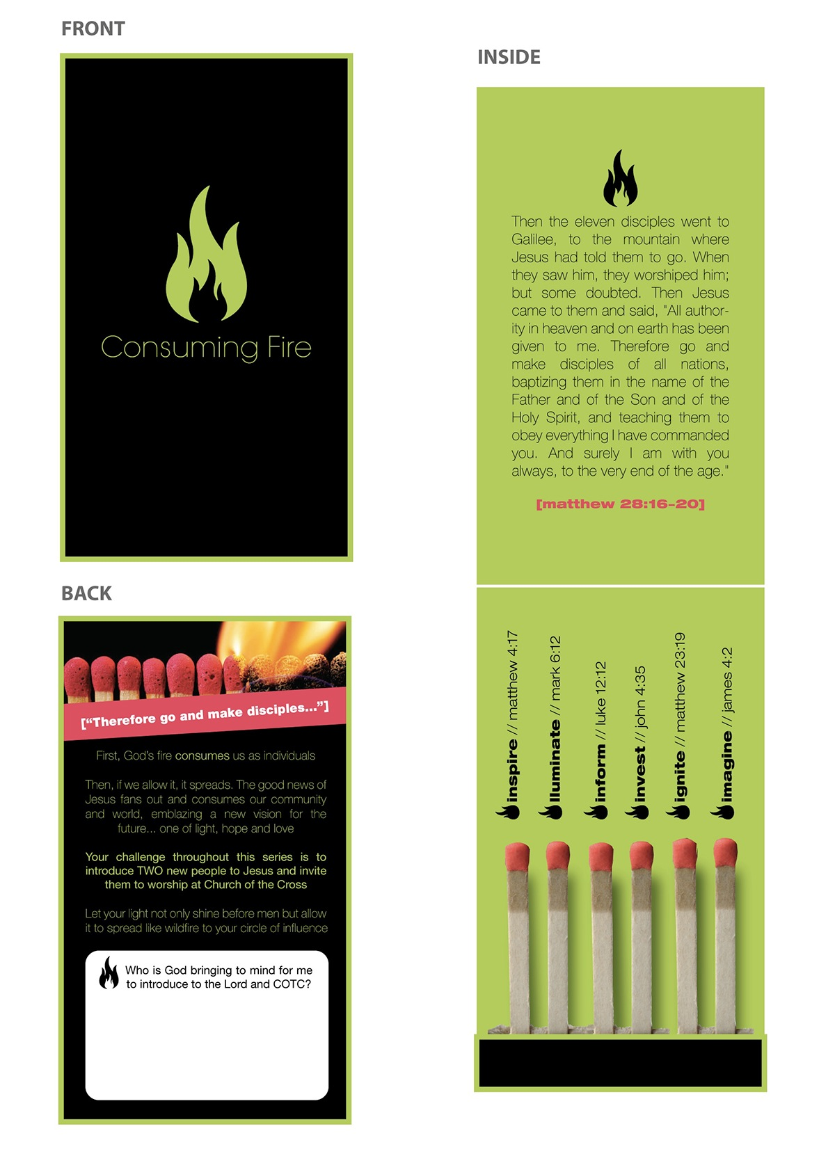 Business Card Promo | The Church of the Cross | Bluffton, SC