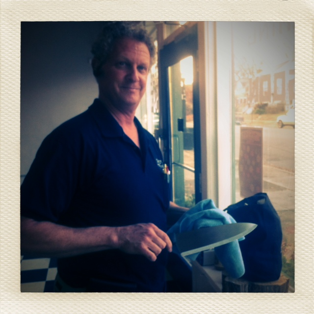 Mr.Leonard- professional knife sharpener!