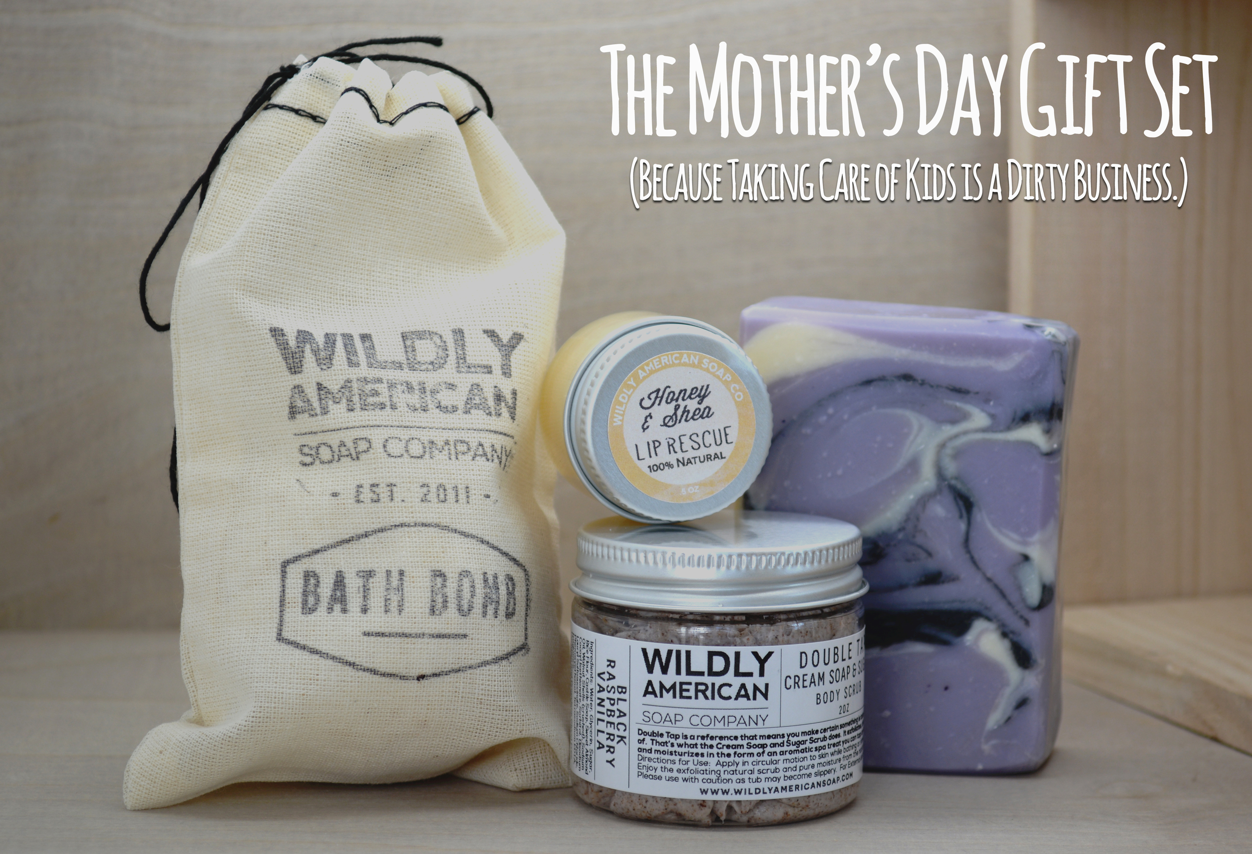 Wildly American Mother's Day gift set