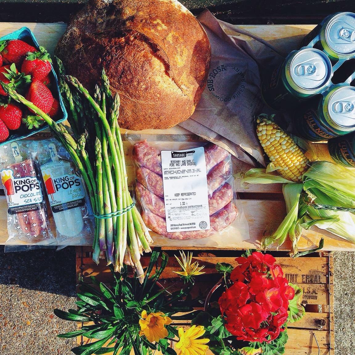 Photo of Little House ingredients by Elliott Shaffner!
