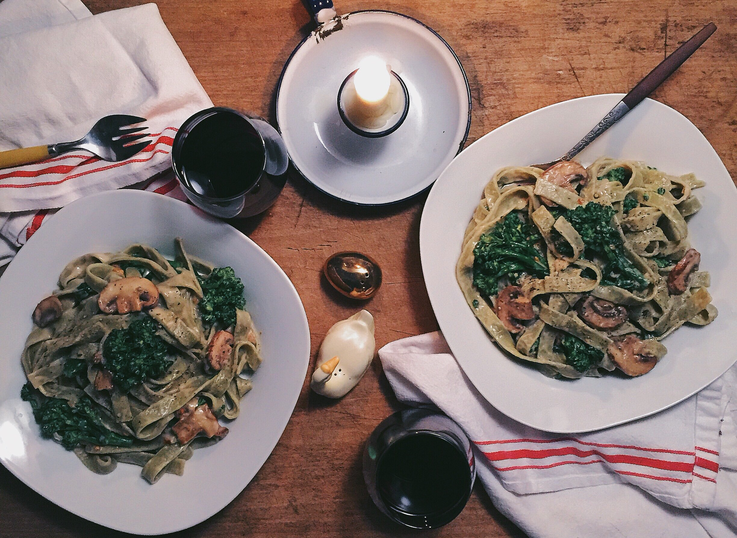 The Perfect Pasta Dinner Kit - Cooking and Photography by Elliott Shaffner and Fred Turko
