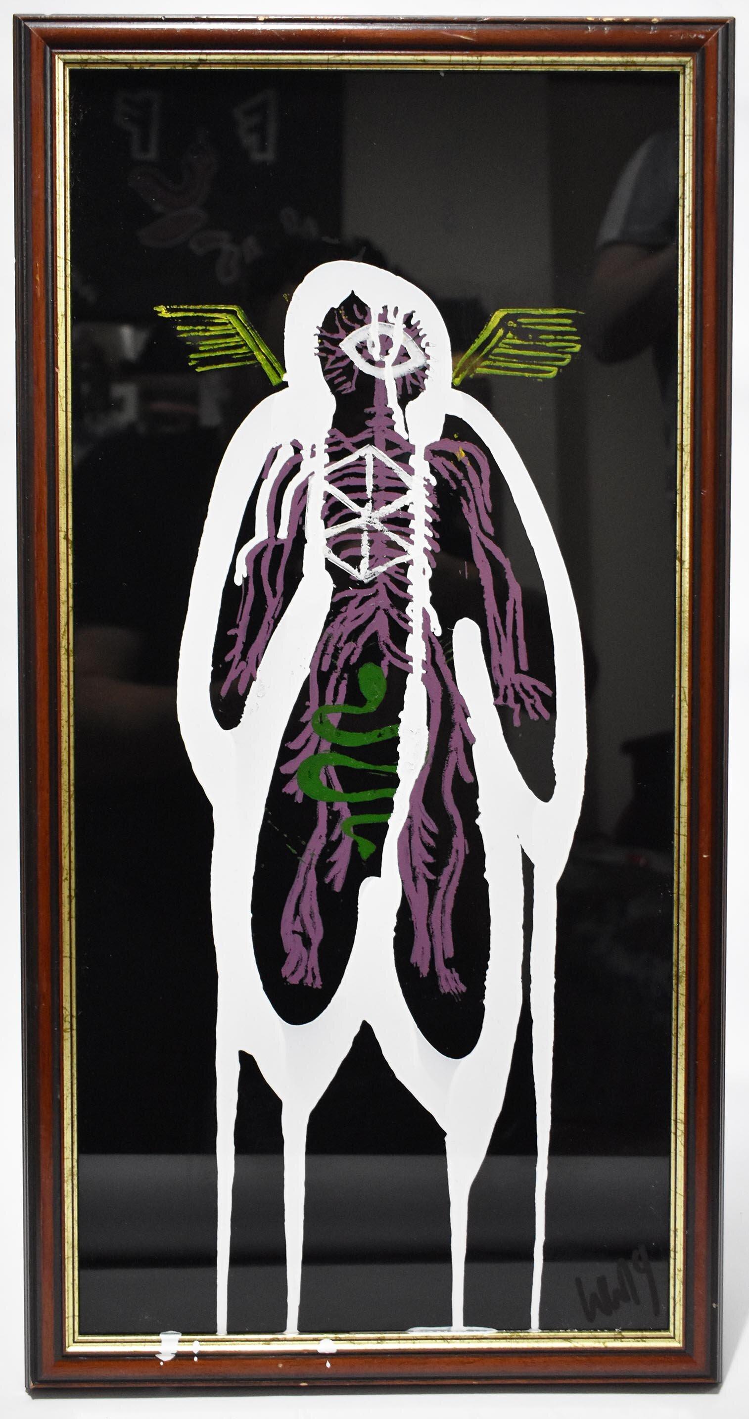 Yggdrasil: framed (three)
