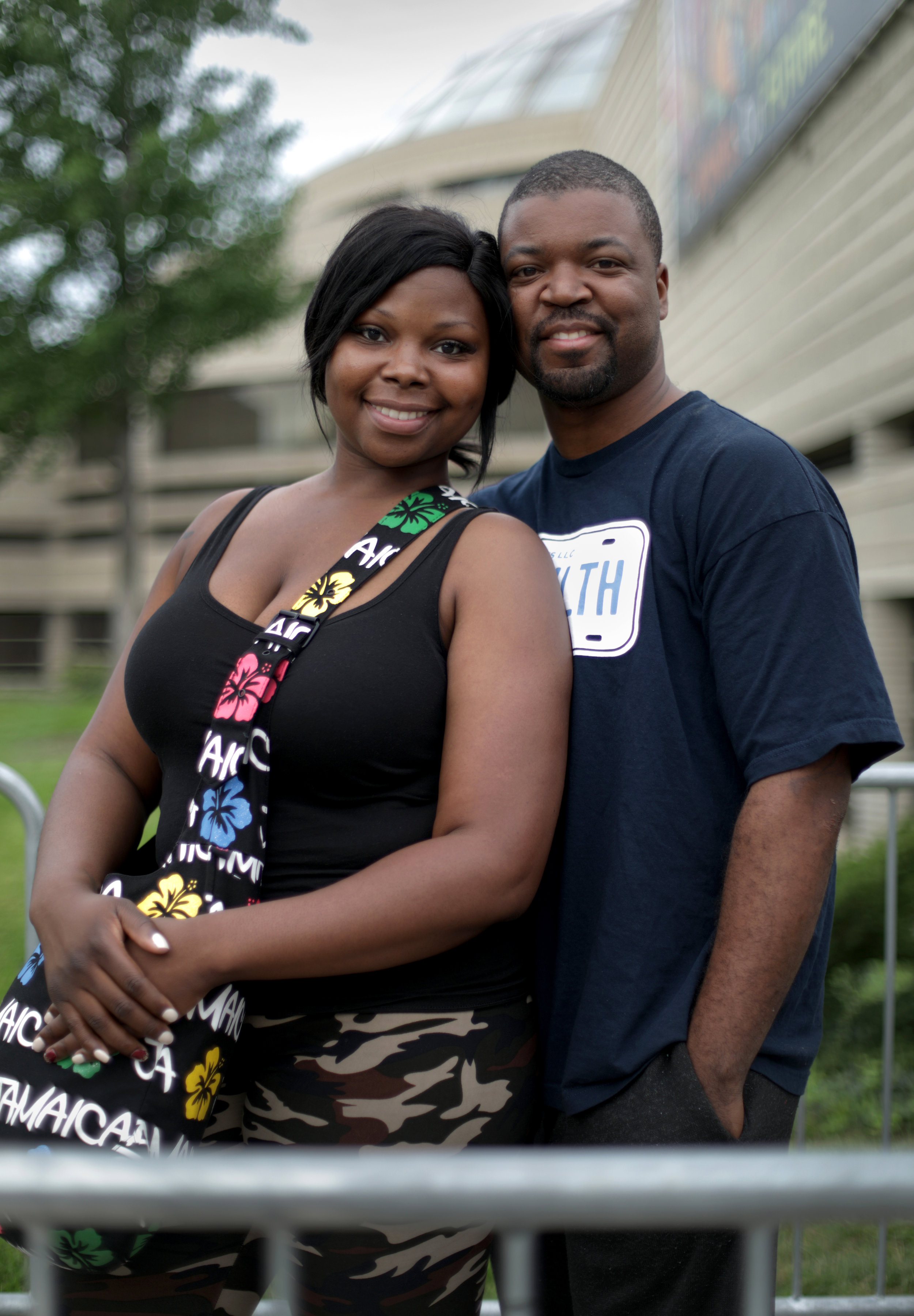 Tornisha Moore, 33 and Antonio Moore, 31 of Detroit.