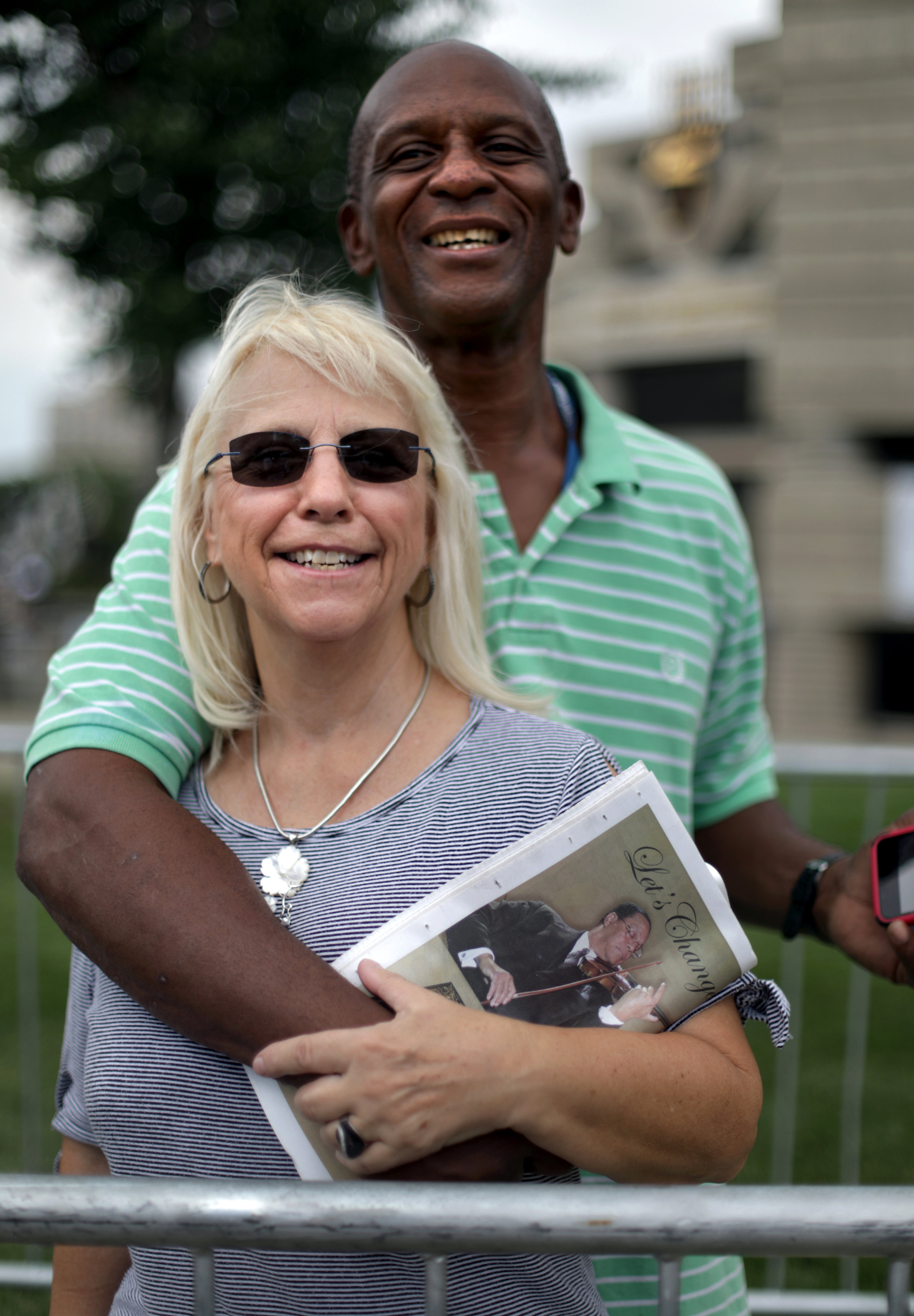 Carlotta Wedge, 59 and Michael Lundy, 58 of Jackson, Florida.