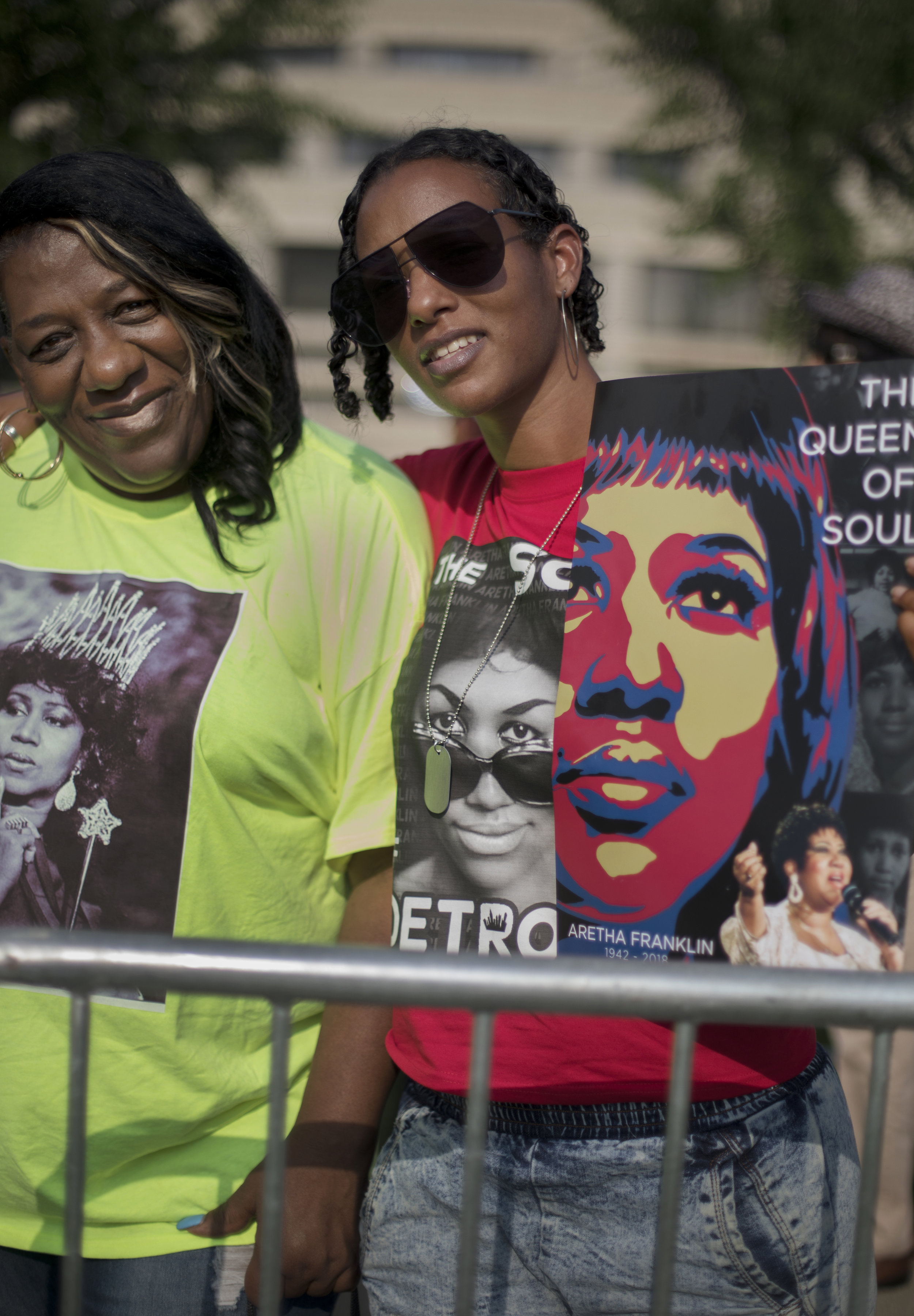 Rokstarr, 39, right and her mother Beverly Odums, 60.