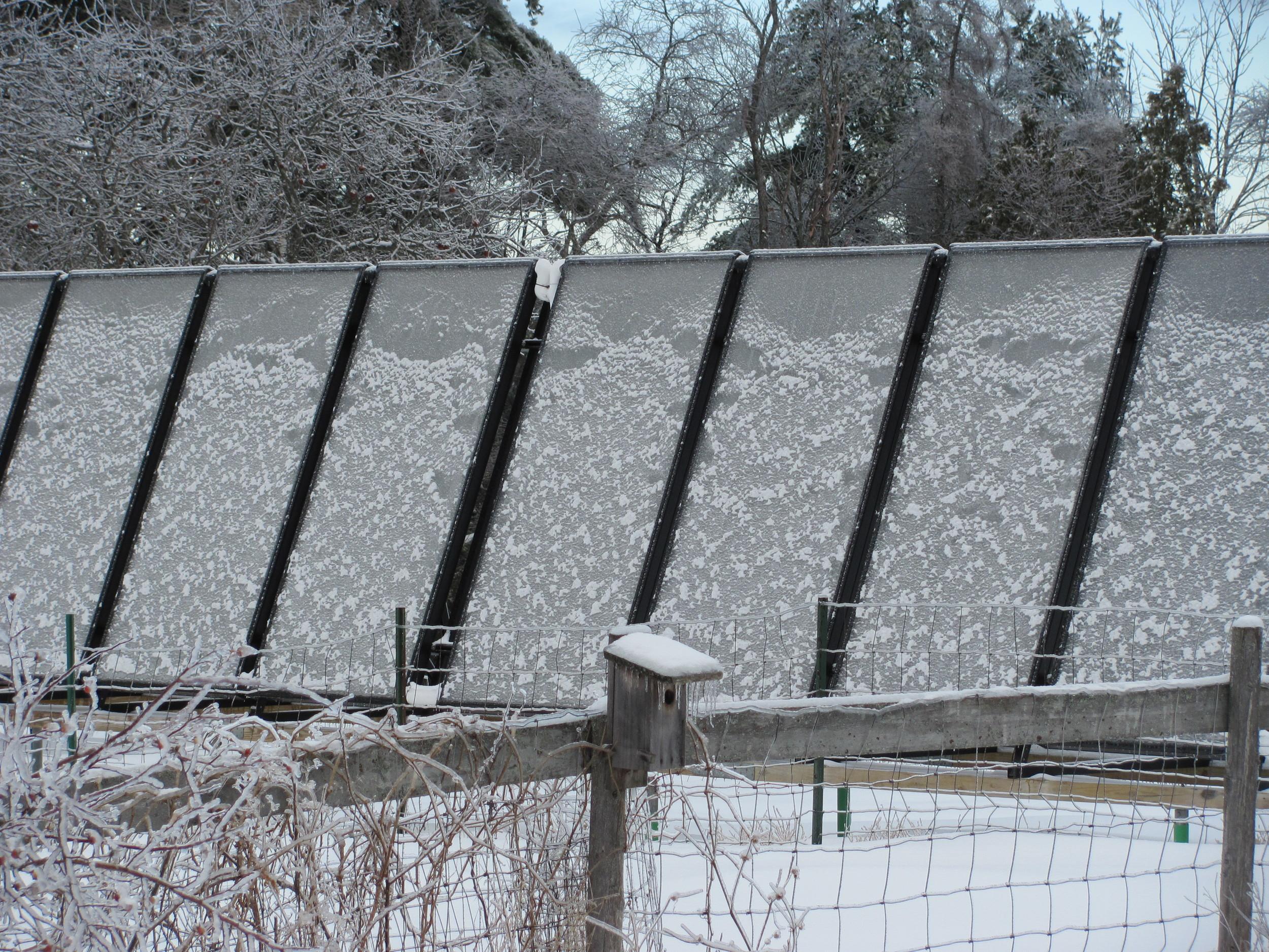 Nice try, solar panels.