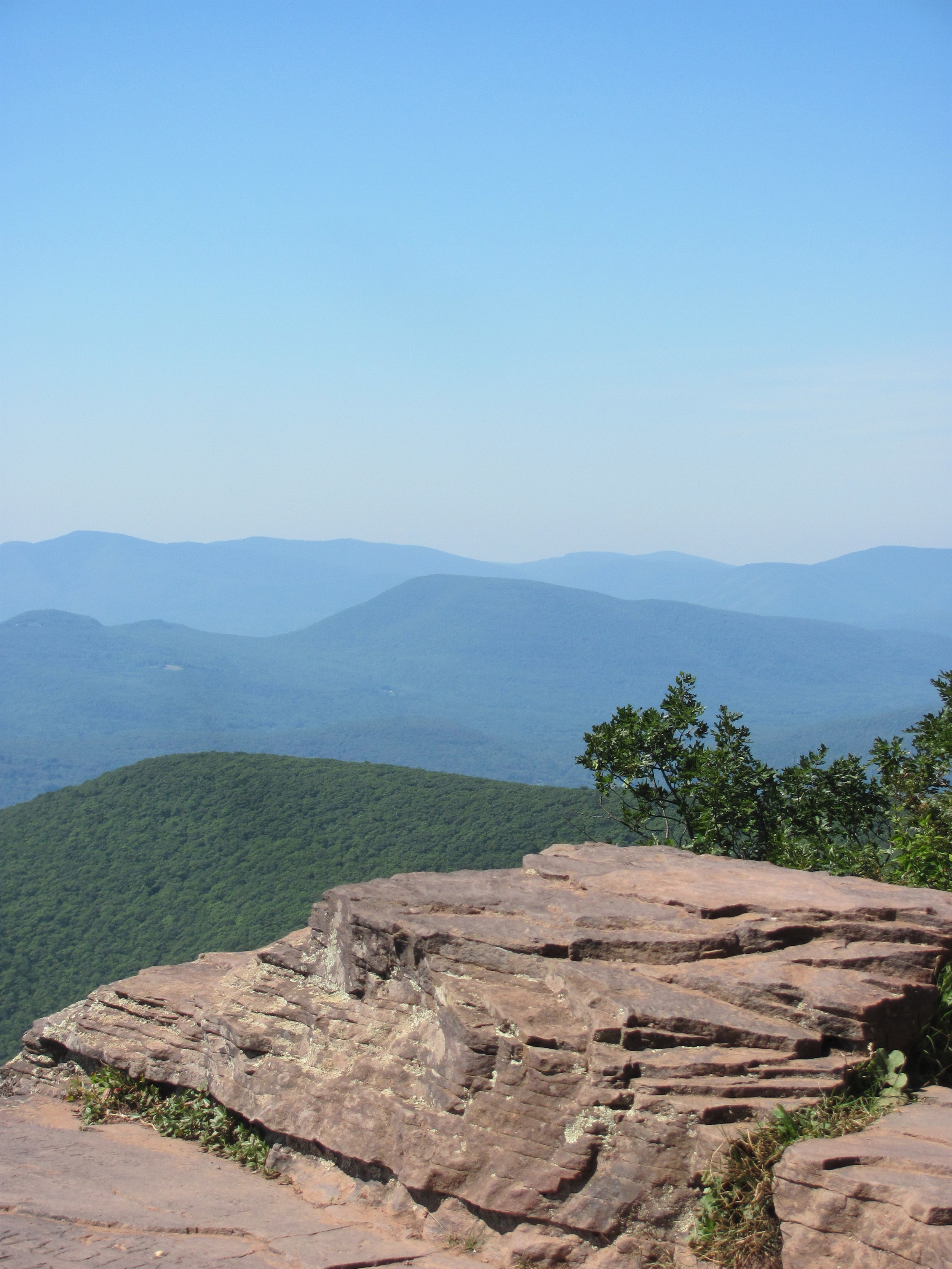 Here's some, now! This is a shot from the top of Overlook Mountain (R).