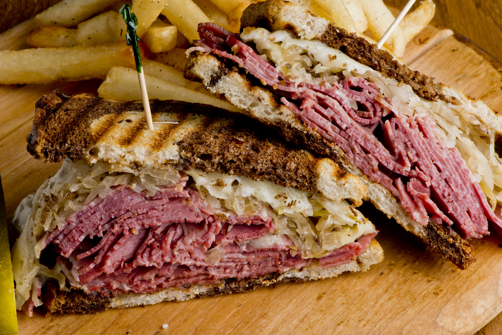 """A ruben to sweeten any sour kraut. I believe they call this one """"The Yalta."""" (credit: Shutterstock)"""