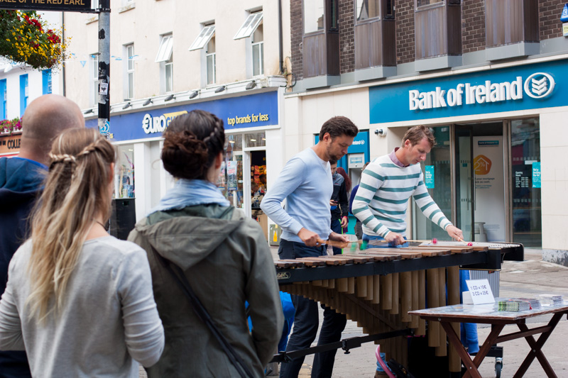 Never a lack of amazing street entertainment!