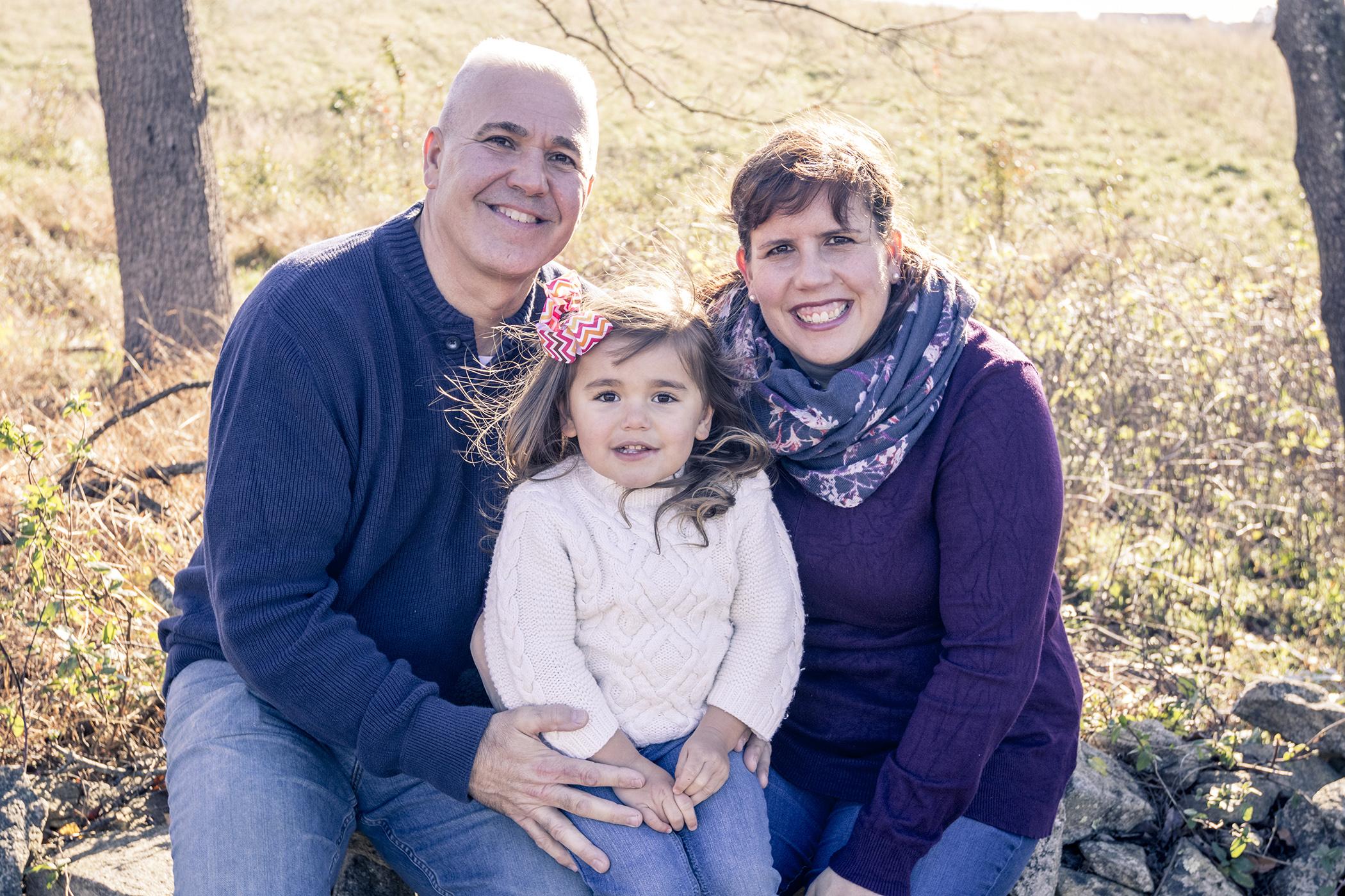 Ellicott City Howard County Conservancy Family Portrait