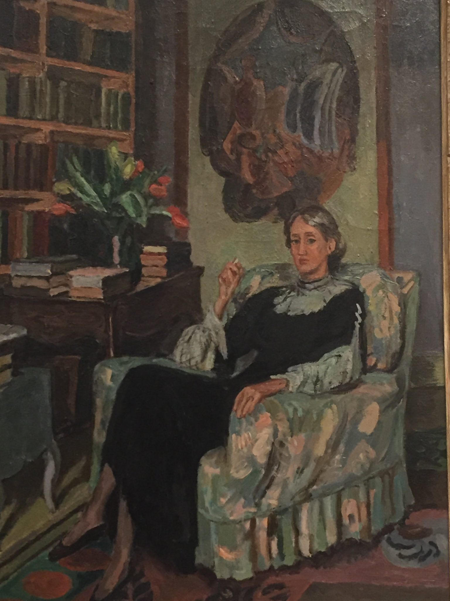 Portrait of Woolf, by Vanessa Bell