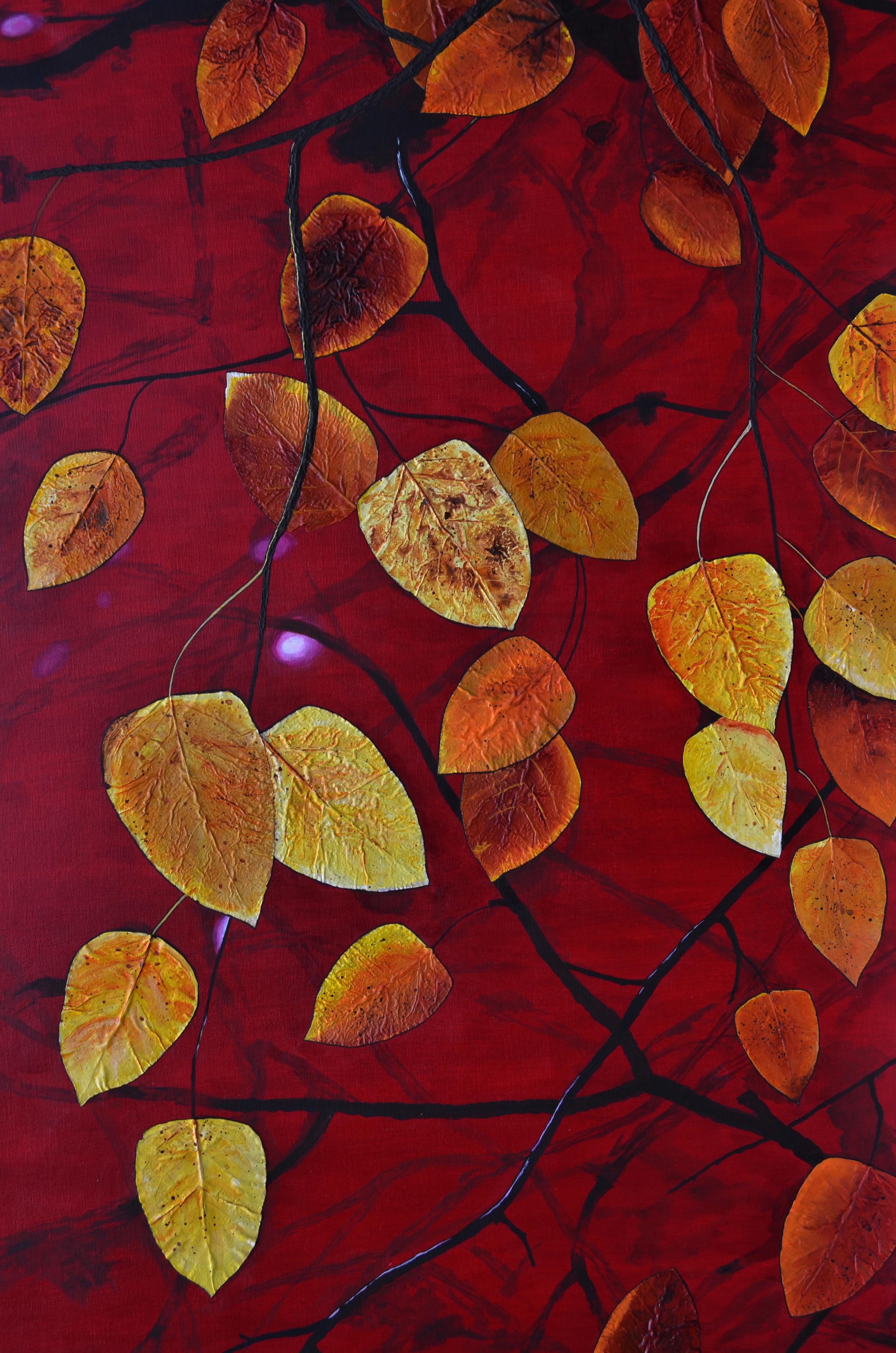 Sunset Autum Leaves Collage.jpg