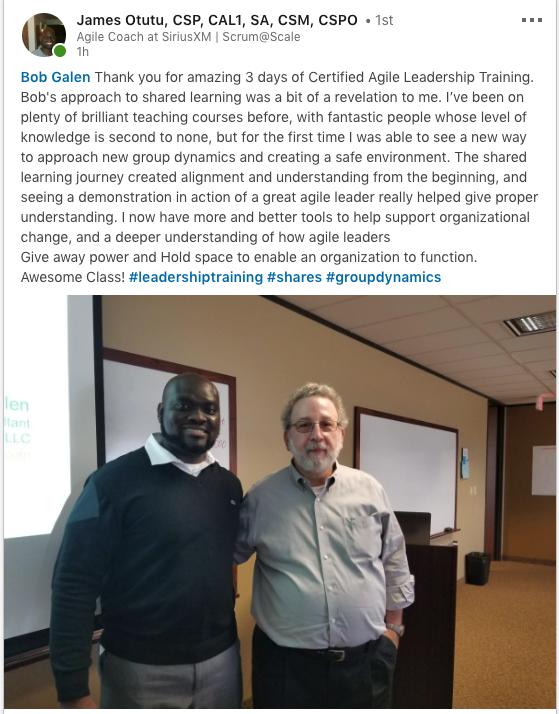 November 2018 - Public CAL class in Dallas, TX