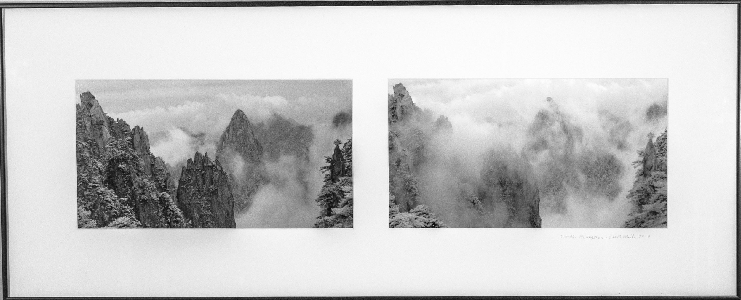 Clouds, Huangshan (Diptych)
