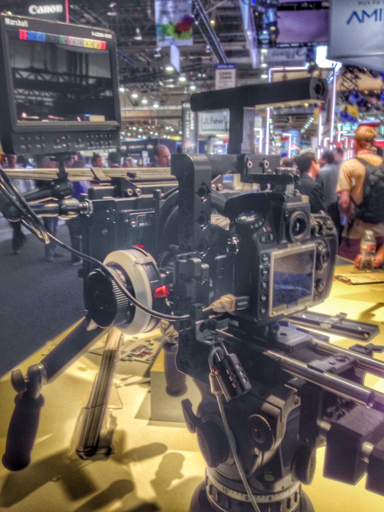 A DSLR camera rig from Arri