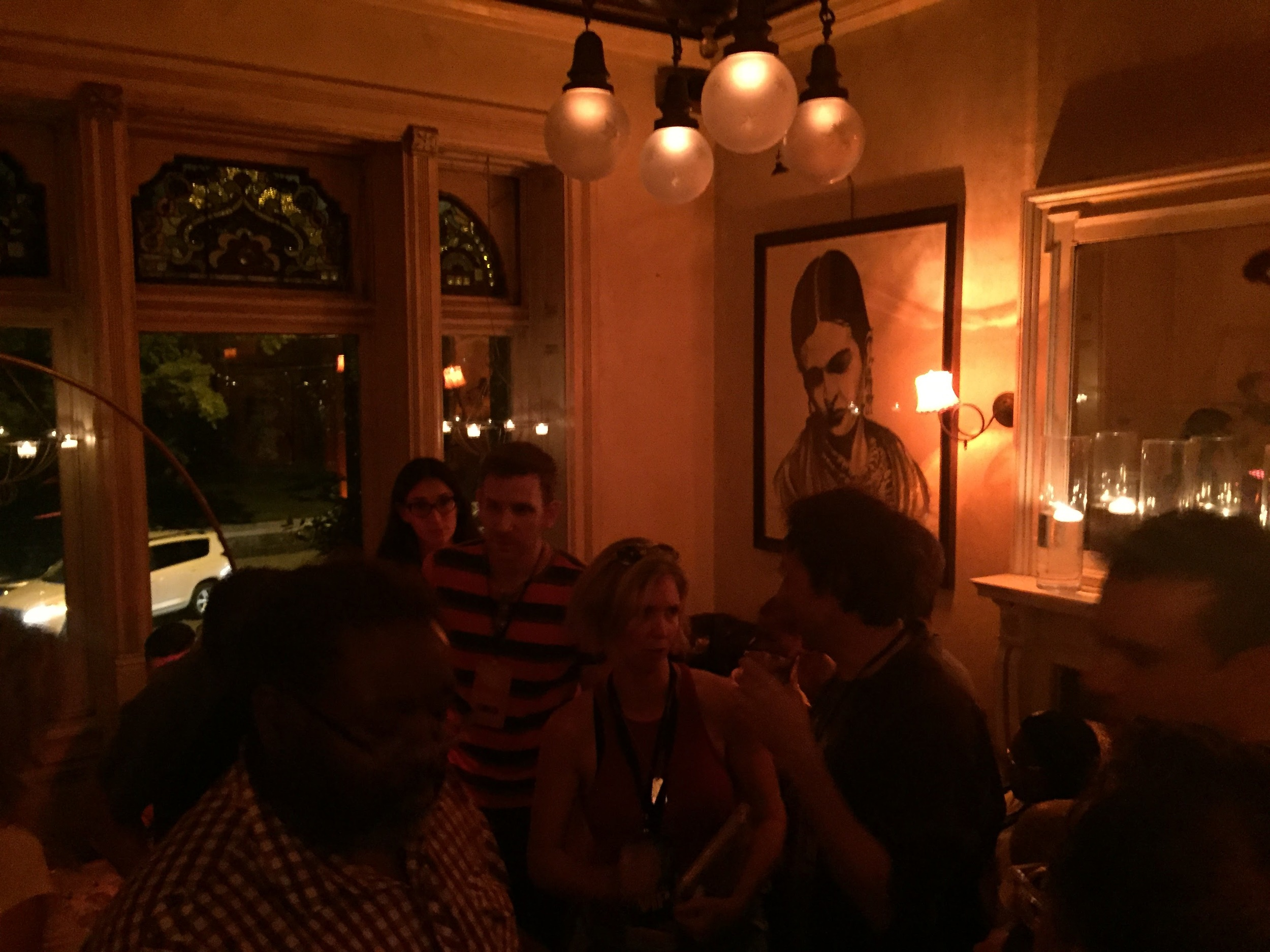 The after-party at Molly Fontaine Lounge
