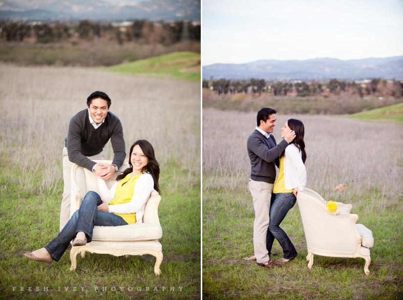 irvine engagement photography