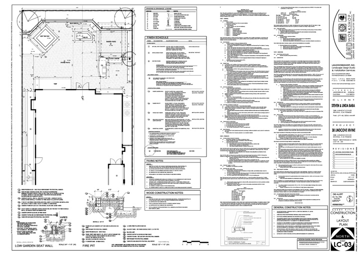CONSTRUCTION PLANS COMPLY WITH CURRENT BUILDING CODES AND ARE USED FOR HOA & CITY AGENCY APPROVAL FOR BUILDING PERMITS.