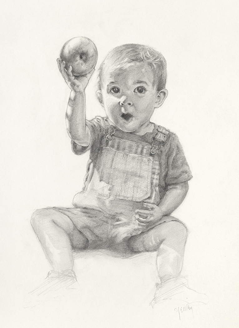 Levi with Apple