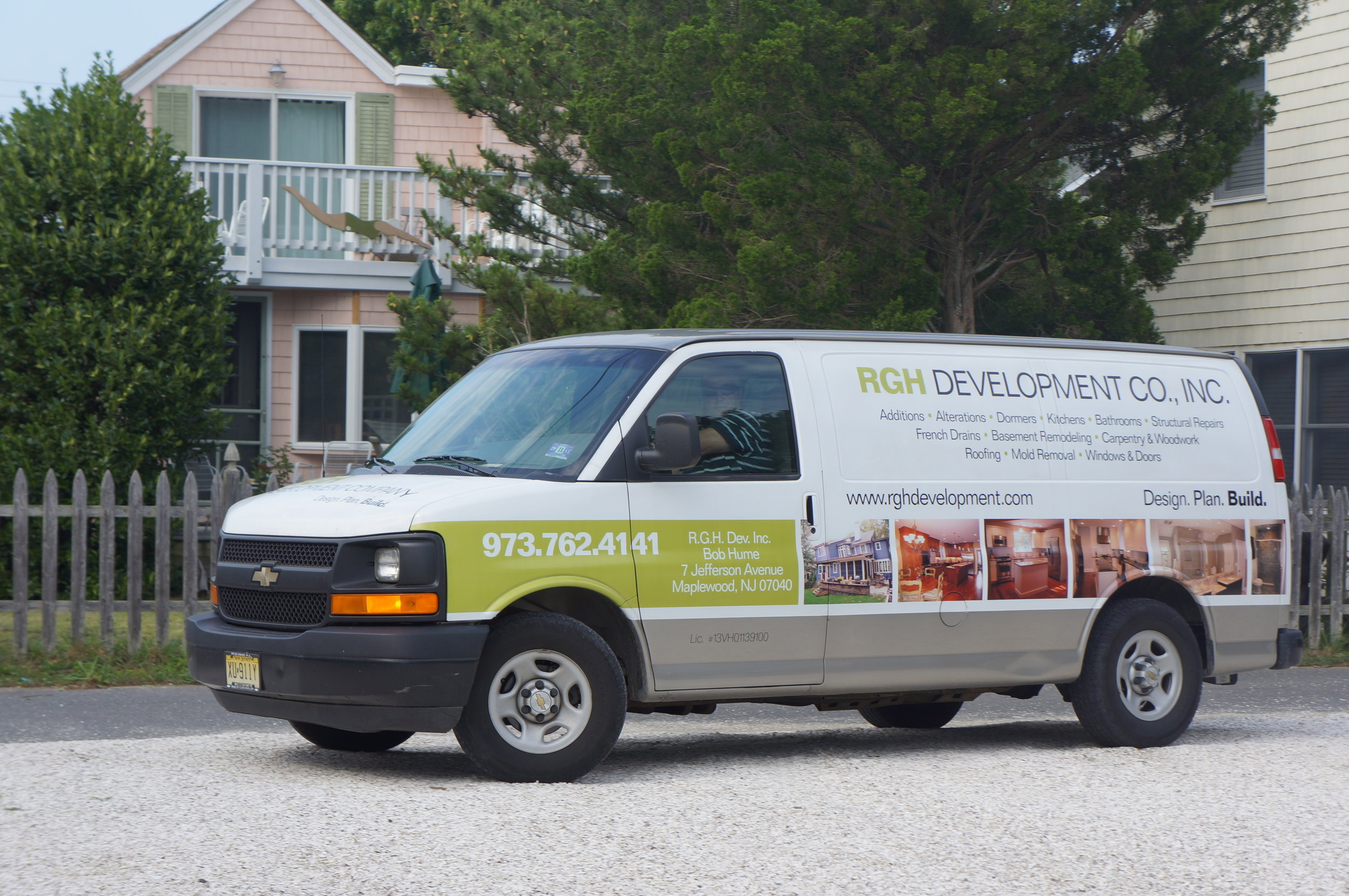 RGH Development Company and Bob Hume's truck