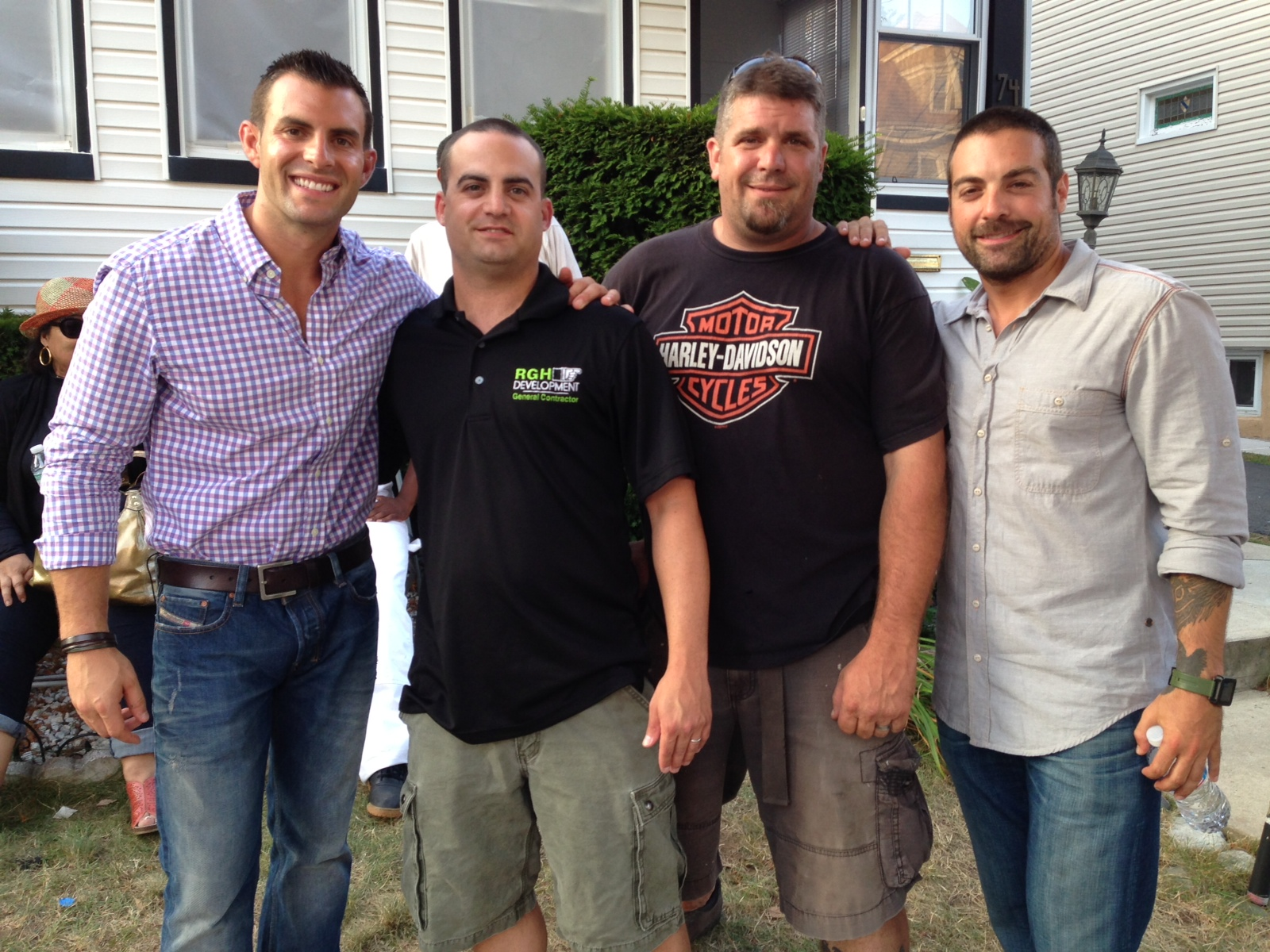 John Colaneri, Paul Vicari, Jeremy Strang,   Anthony Carrino