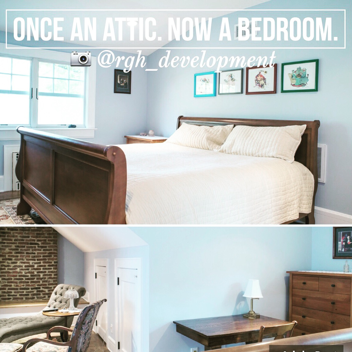 attic to bedroom