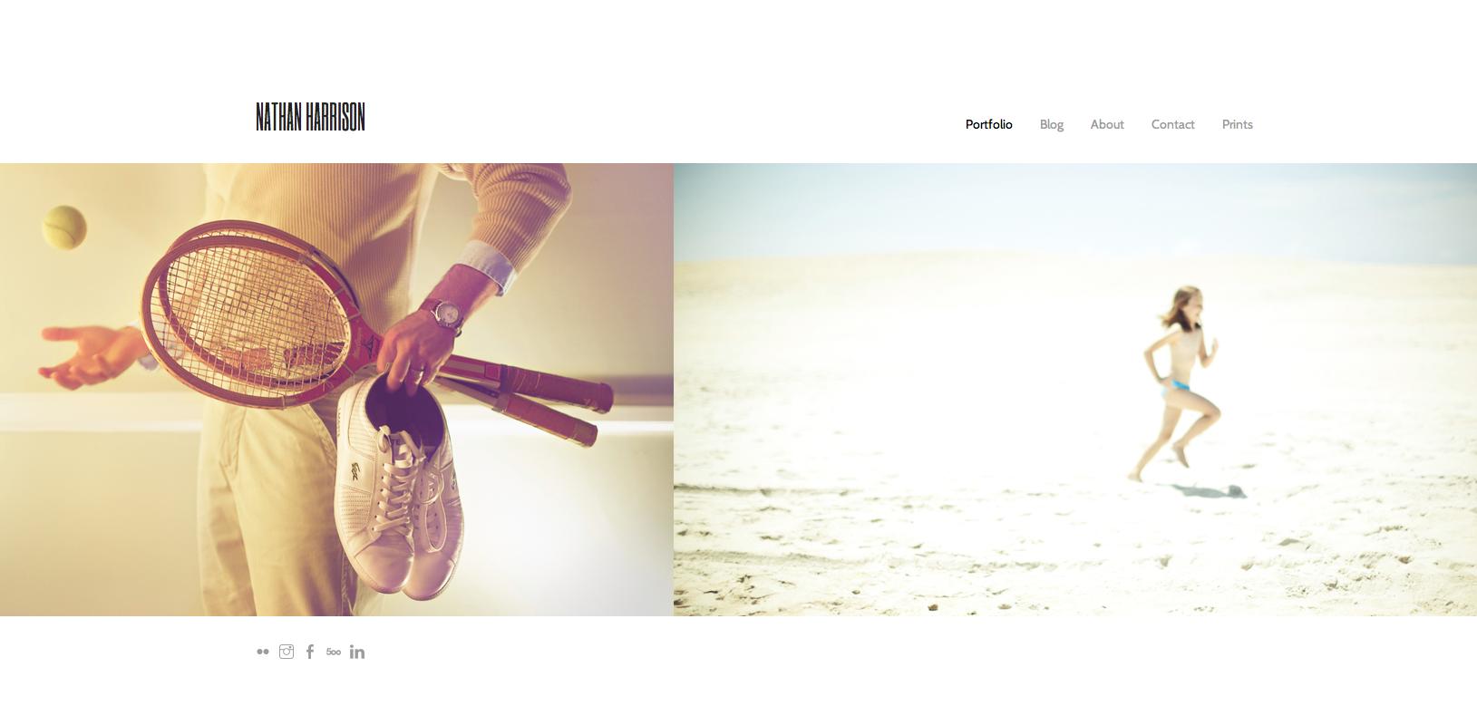 My new website:  www.n-harrison.com