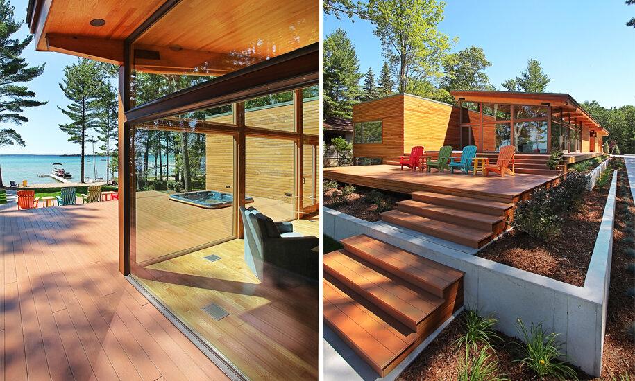 Higgins Lake House (Photo courtesy of Jeff Jordan Architects)