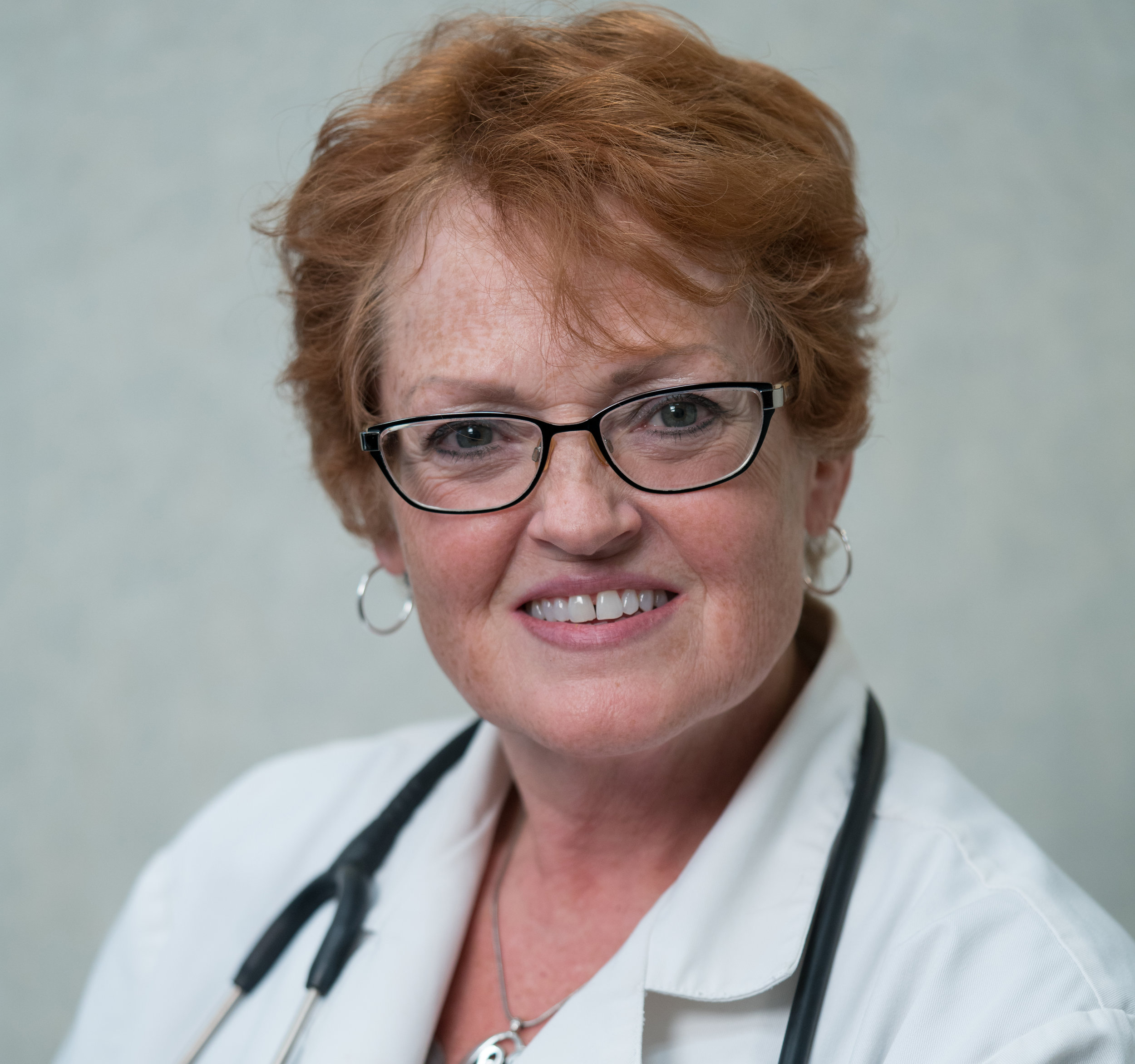 Reba J. Mahaffey: Nurse Practitioner - Reba was born in Jasper, Alabama. She moved to Northwest Indiana before she was in first grade. Her schooling was at a Catholic Orphanage in East Chicago, Indiana. The Carmalite Nuns raised her from an early age with rules and chores that were to be followed daily which is where she first learned discipline and hard work. Reba then attended Calumet High School in Northwest Indiana. For her professional studies she attended Purdue University where she earned an Associate's Degree in Nursing followed quickly by a Bachelor's degree in Nursing. Reba made the Dean's list and her grade point average allowed her to be awarded a grant from the city. She was then able to complete her Master's degree in Nursing with a specialty in Pain Management. Her mentorship with a pain specialist was with Dr. Judith Paice, Phd. at the University of Chicago. Reba also worked with Dr. Timothy Lubenow MD and with the Metronic Corporation, training to assist with surgeries that implanted spinal cord stimulators and continuous intrathecal pumps. Reba has made her career in healthcare, because she is devoted to helping others learn to live a long and healthy life. She takes great satisfaction in bringing good humor and cheer to her patients and their families.