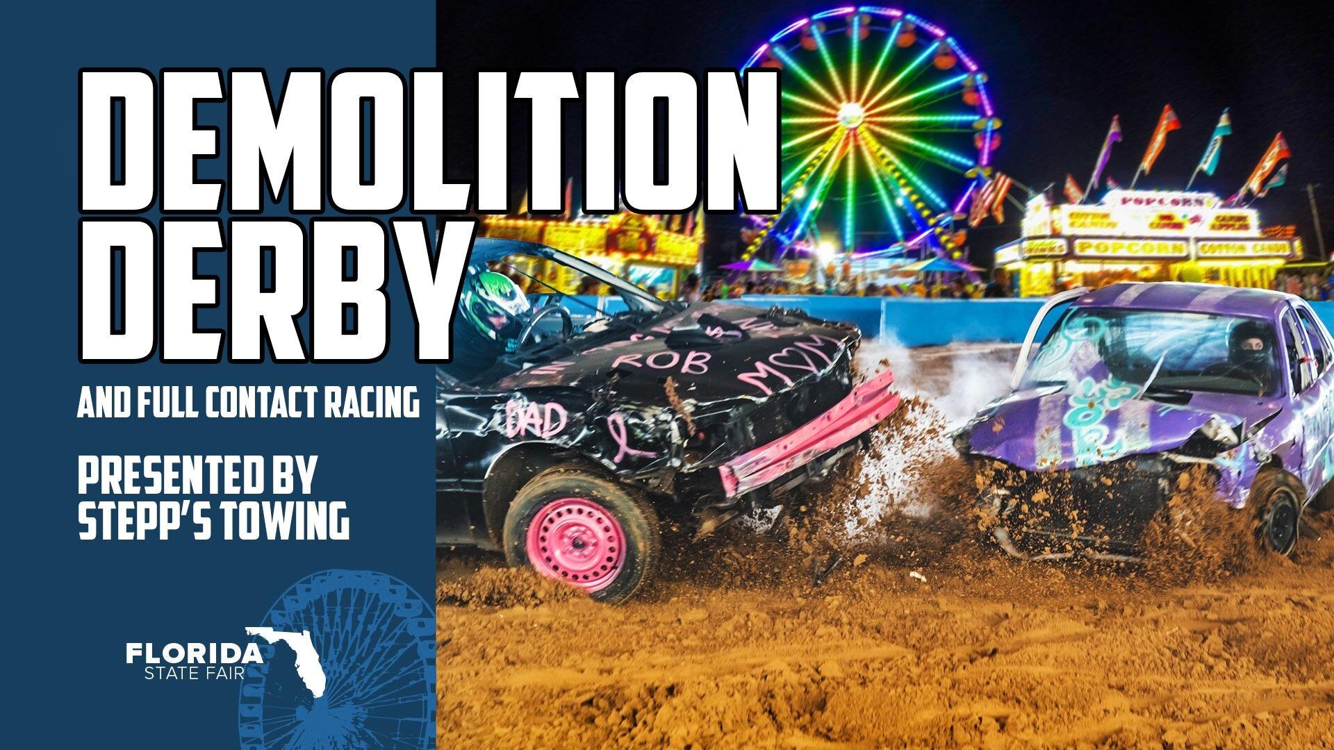 Demolition Derby Returns To The 2020 Florida State Fair Tour Of Destruction