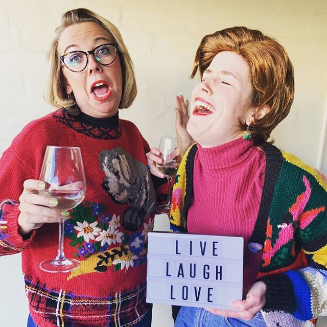 These two women in their PRIME are doing a test show tonight at @improvtheatresydney sandpit! Only open to ITS students and grads, but if you think they look like the kind of ladies you want to know, come see them at the factory theatre 27, 29 and 31st of Aug! 💐