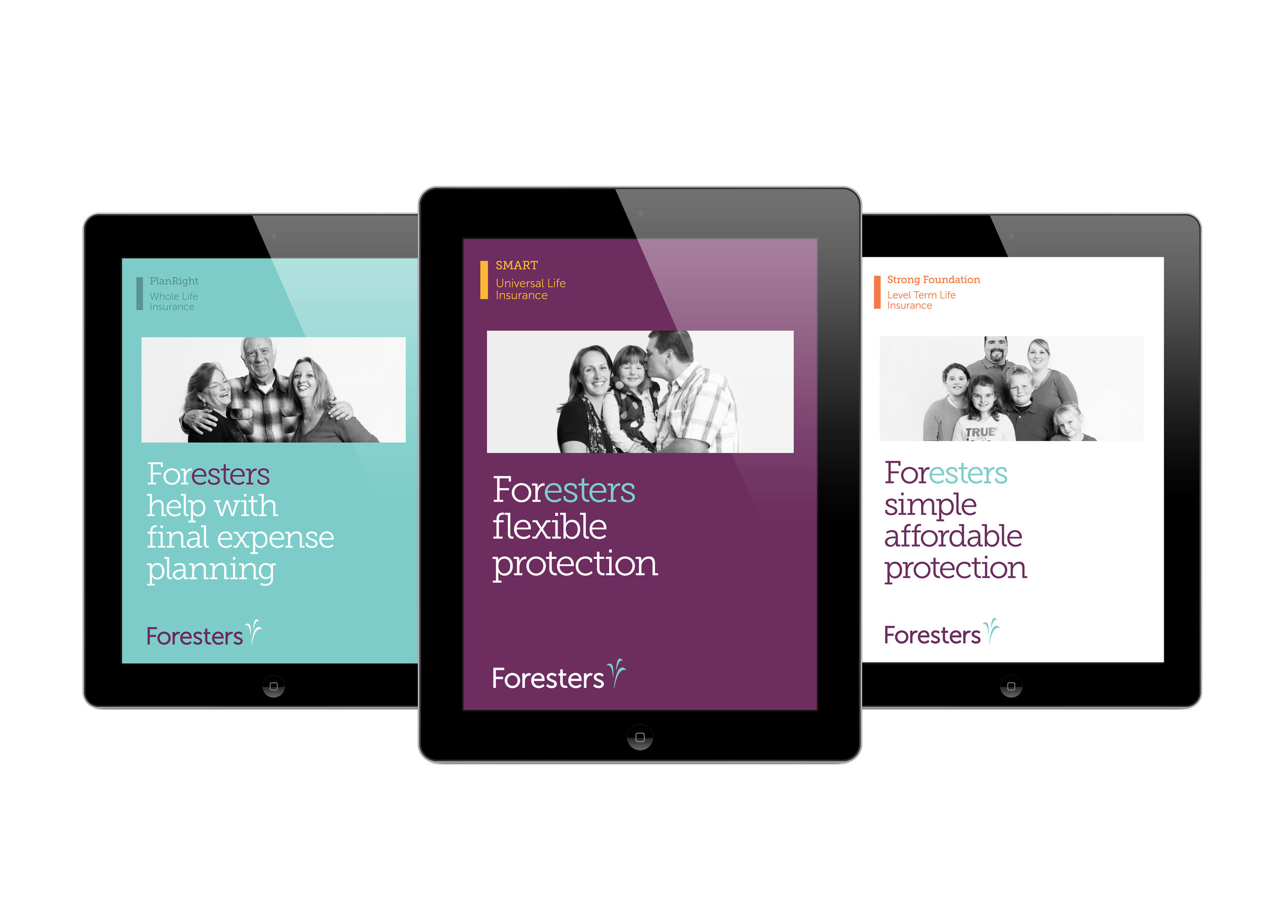 Foresters iPad Consumer Brochure Covers