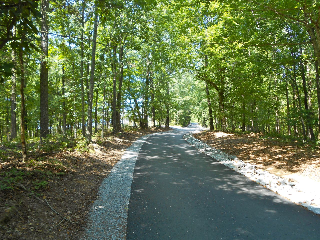 Over two miles of paved driveway with rip rap, gravel edging and extensive culverts.